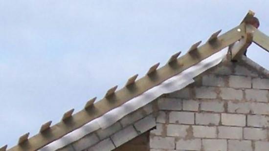 Фронтоны крыши своими руками фото 539