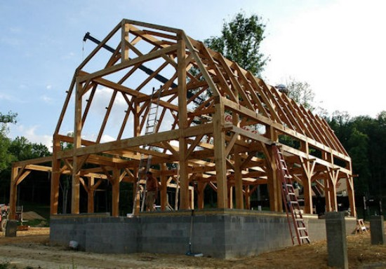 Строительство ломаной крыши своими руками фото