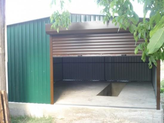 Каркас для гаража из металла