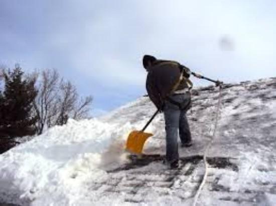 Приказ по уборке снега с кровли