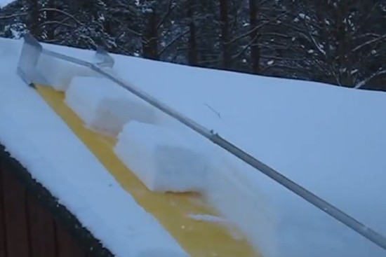Мероприятия по очистке крыш от снега