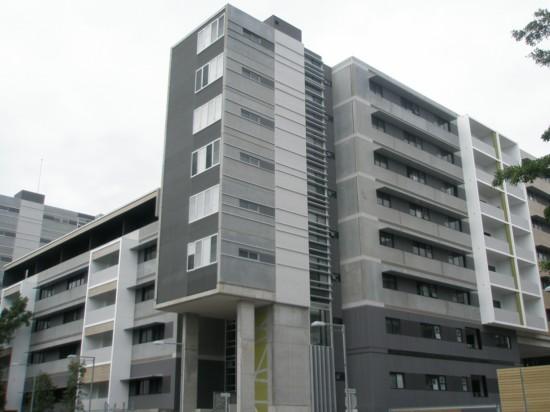 Многоквартирный дом из железобетонных панелей