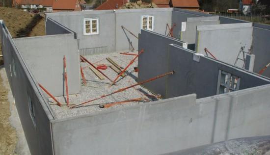 Частный дом из панелей