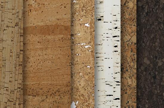 Пробковые стеновые листы