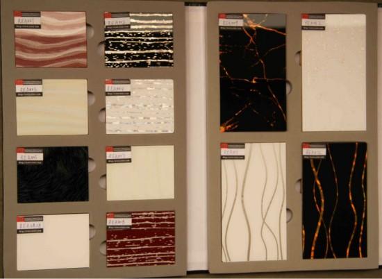 Образцы листовых панелей